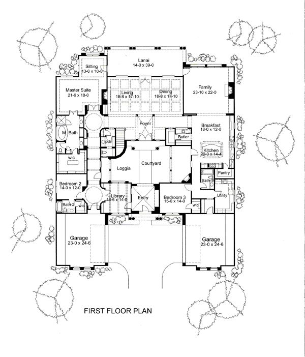 111 best home structure images on pinterest architecture, small Home Hardware House Plans Nova Scotia first floor plan of mediterranean traditional house plan 65886 home hardware house plans nova scotia