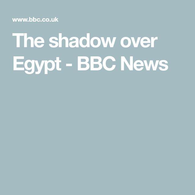 The shadow over Egypt - BBC News