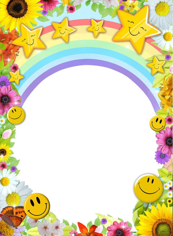 kids-picture-frame-psd-free
