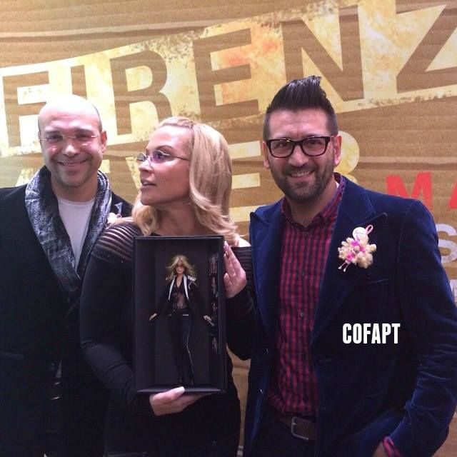 """NEWS:  Magia 2000 also created a tribute Barbie for Anastacia and gave it to her on Monday afternoon during the presentation of the """"Barbie Oriental Obsession"""" charity event at Luisa Via Roma in Florence, Italy. Stay tuned for more updates."""