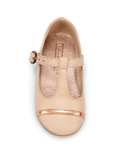 nude ballerina t - Shoes - Baby girl (3-36 months) - Kids - ZARA United States