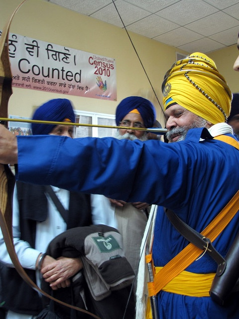 Apart of Sikh Martial Arts ~ Archery ~ Focus ~ Confidence