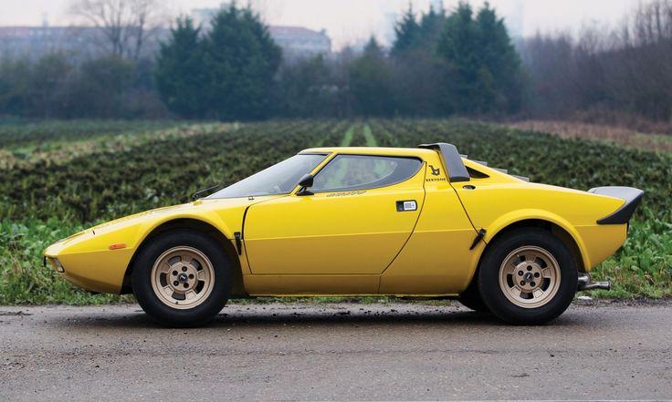 1977 Lancia Stratos HF Stradale by Bertone