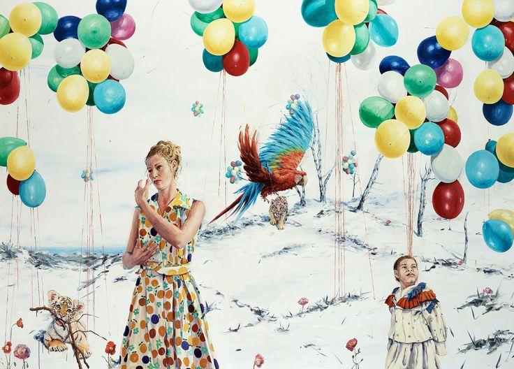 """LINN FERNSTRÖM, """"Ballongerna""""."""