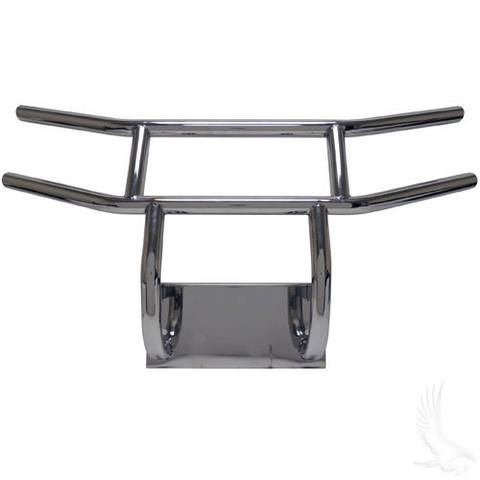Yamaha DRIVE Golf Cart Stainless Steel Brush Guard - WHEELZ Custom Carts &…