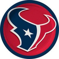 Houston Texans Lunch Plates 18ct