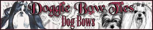 Image:Doggie Bow Ties Dog Bows, Show Bows, Puppy Bows, and Doggy Bows doggiebowties.com