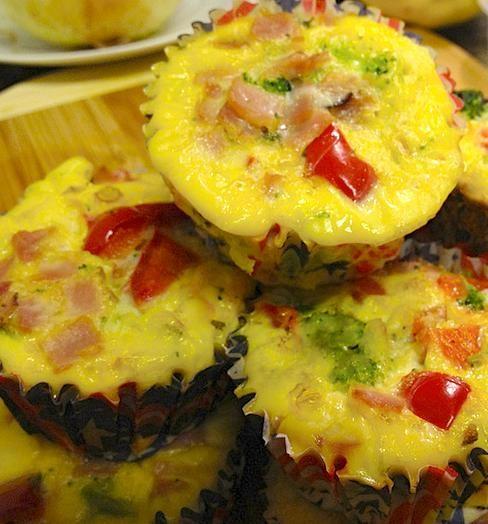 Gluten Free Breakfast Muffins... fit yummy!
