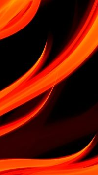 Latest Abstract, Orange Mobile Wallpaper 10