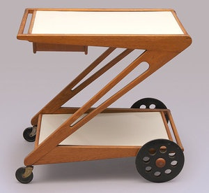 UMS Pastoe Tea Trolley by Cees Braakman