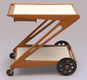 UMS Pastoe Tea Trolley by Cees Braakman