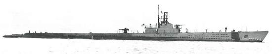 Cero (SS-225) of the US Navy - American Submarine of the Gato class - Allied Warships of WWII - uboat.net