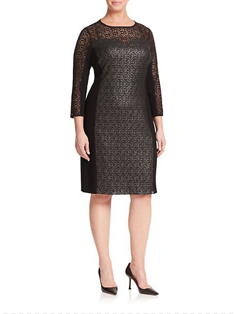 The Curvy Fashionista | Marina Rinaldi Fall Collection Launches at Saks Fifth Avenue