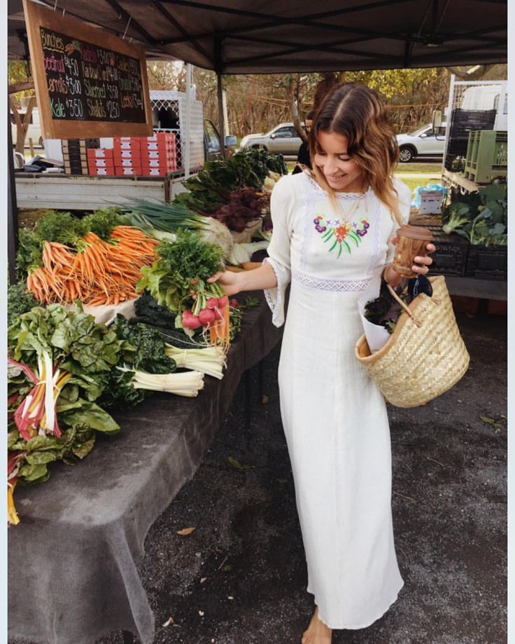 "569 Likes, 6 Comments - Chasing Unicorns (@chasing__unicorns) on Instagram: ""Farmers market morning with beautiful @anita_ghise in the Amelia dress """