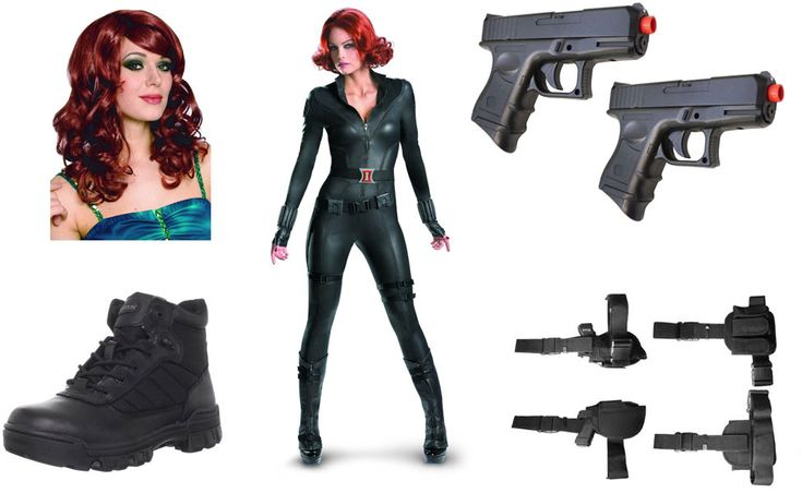 Black Widow Costume | The Winter Soldier | Pinterest ...