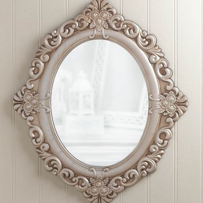 last one large wall mirror decorative home antique vintage rustic extra oval french bath