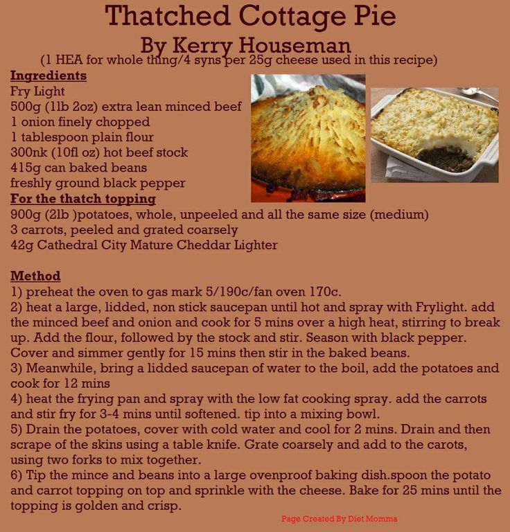 Thatched Cottage Pie :)
