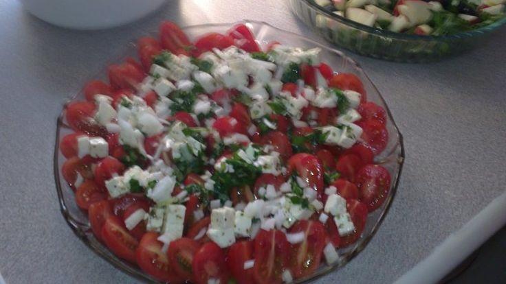 Lækker tomatsalat