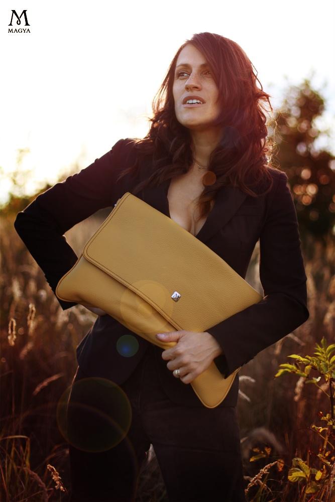 Beautiful envelope bag for autumn season