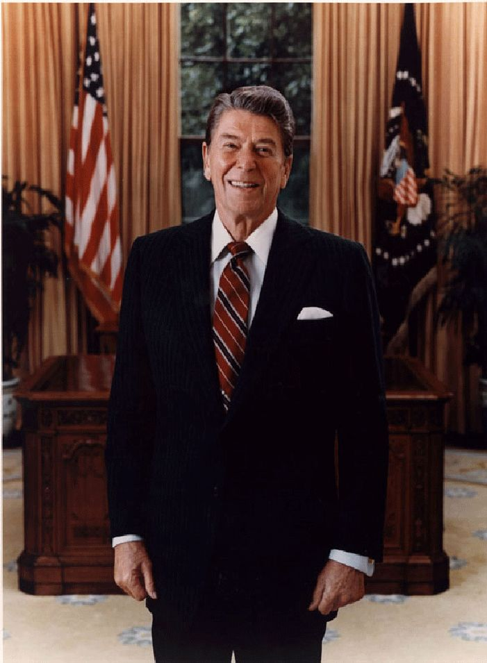 The official (I think) photo of president Reagan. He mailed be me a signed copy after I sent him a letter asking for an autograph. Changed the course of my life.