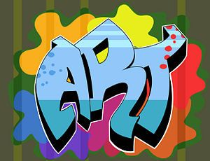 How to Draw Graffiti Names: 10 steps (with pictures) - wikiHow [art 8 - street art/cave art tie in]