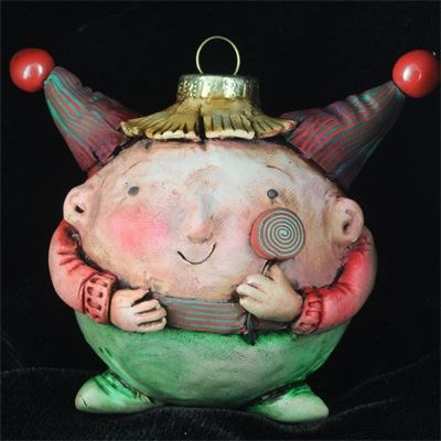 polymer clay art by Doreen Kassel - Home