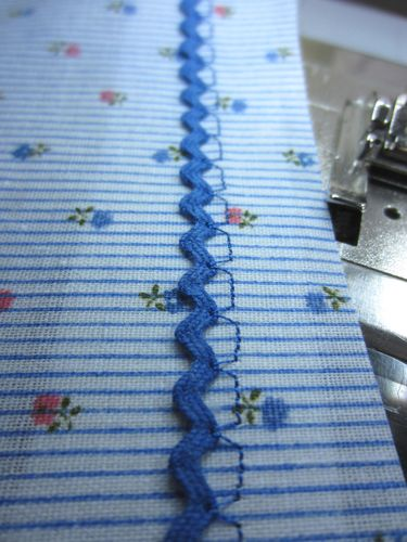 Floating Rickrack Sewing Technique, brilliant~