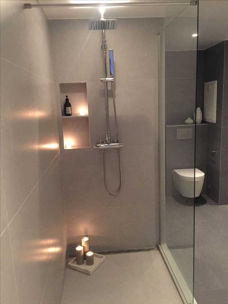 Our walk-in shower | Feel free to follow me on #instagram