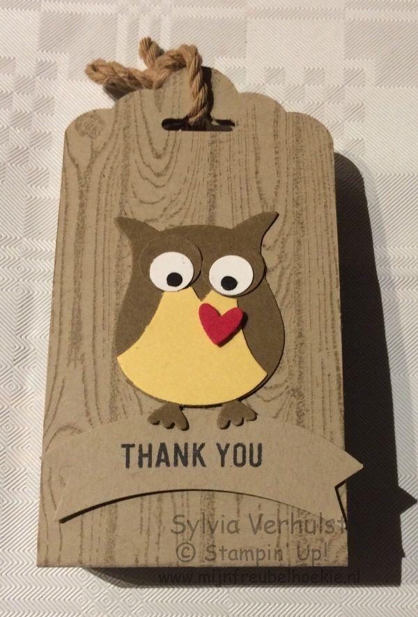 Owl Builder workshop#Stampin' Up!