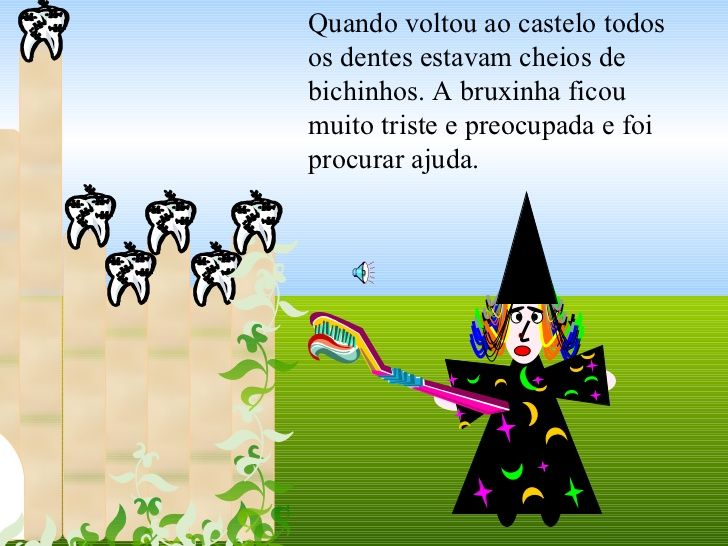 A história da bruxinha