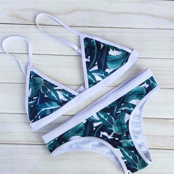 Turquoise Rave Triangle Bikini (570 MXN) ❤ liked on Polyvore featuring swimwear, bikinis, turquoise bikini, turquoise swimwear, bikini beachwear, triangle swimwear and bikini swim wear