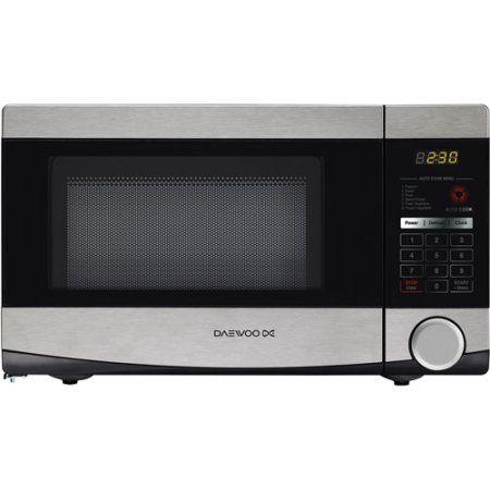 Daewoo .7 cu ft Microwave, Stainless Steel, Silver