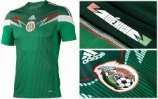 Mexico World Cup soccer Uniform.