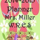 Ultimate Teacher Planner 2014-2015 - Flip Flop Theme, Common Core Included. This 345-page ULTIMATE TEACHER PLANNER is a teacher's dream come true! Through many hours of preparation, I am now offering this great FULLY EDITABLE organizational tool to teachers worldwide. Lots of choices to make this planner truly work for you, all in one place!