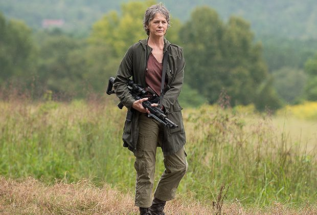 """The """"Not Tomorrow Yet"""" episode of The Walking Dead started off so cheerfully — with Carol baking and distributing beet and acorn cookies like she was Alexandria's own Mrs. Fields — that nobody coul…"""