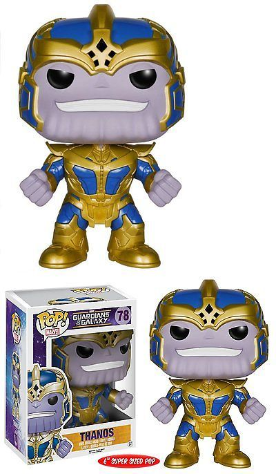 Mixed Lots 49018: Funko Pop Marvel Guardians Of The Galaxy Series 2 Thanos 6 In Pop Action Figure -> BUY IT NOW ONLY: $52.01 on eBay!