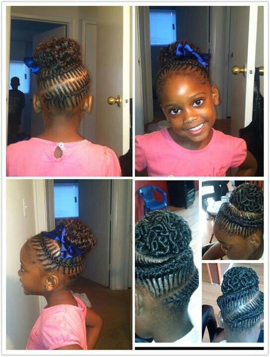 Fabulous 1000 Images About Cute Hairstyles For Little Girls On Pinterest Short Hairstyles For Black Women Fulllsitofus