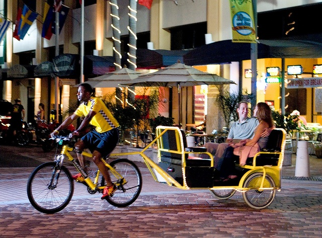Bike Taxi To Get Around Downtown (West Palm Beach, Florida)