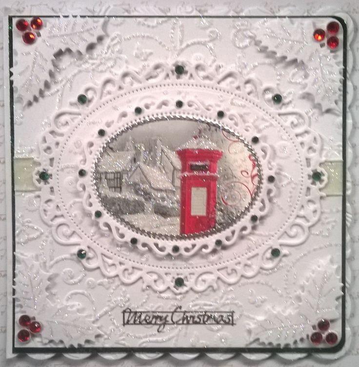 8 x 8 Christmas Card