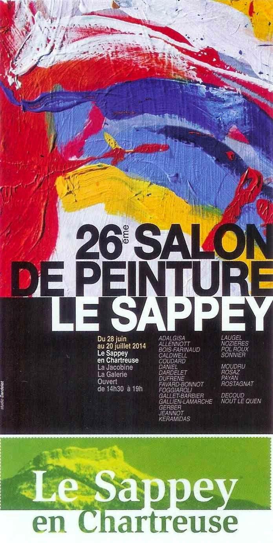 Proveysieux en Chartreuse: 26ème salon de peinture du Sappey en Chartreuse du 28 juin au 20 juillet