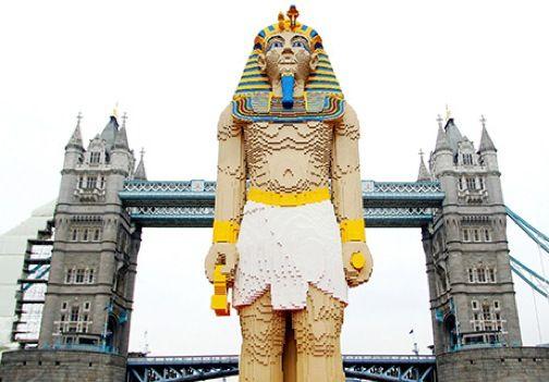 Amazing Lego Creations - Lego King Tutankamon