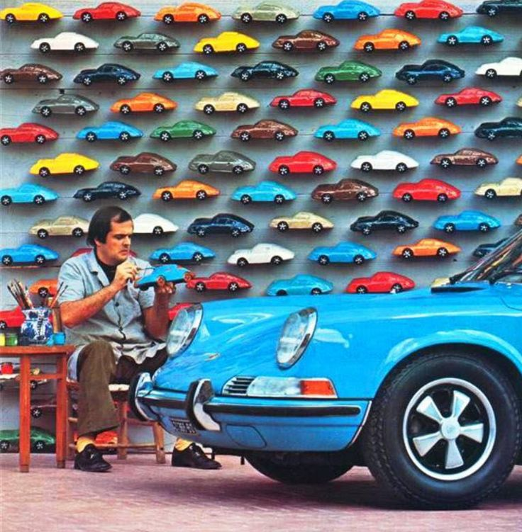 """frenchcurious: """"Rêve de jouets, Porsche - Dealerships Vintage Automobile et Automobilia. """""""