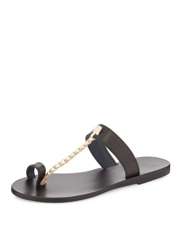 Sandales En Cuir Melpomeni Anciens Sandales Grecques FHMHAL