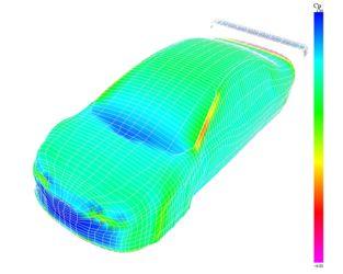 Touring Car CFD Simulation by Joseph Katz