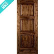 WoodDoor+ Internal Pre-Finished Walnut Panelled Almeria Door
