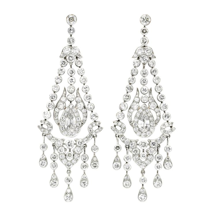 15 best earrings images on Pinterest   Diamond chandelier earrings ...