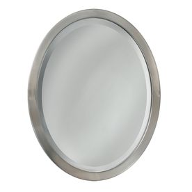 Gallery For Photographers allen roth in H x in W Brush Nickel Oval Bathroom