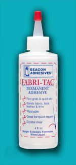 Pics/uses/etc. for various craft and fabric adhesives.