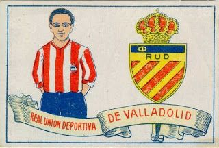 R.U.D. de Valladolid. Temporada 1928-29. Cromos Amatler.