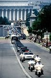 Jackie Onassis Photo - Funeral Procession to Arlington Cemetary For Jacqueline Kennedy Onassis